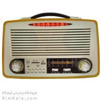 رادیو اسپیکری فوق پیشرفته با طراحی بسیار شیک و چوبی/فروشگاه کیم کالا
