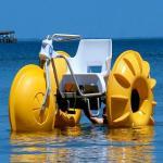 طراحی و تولید انواع قایق های پدالی
